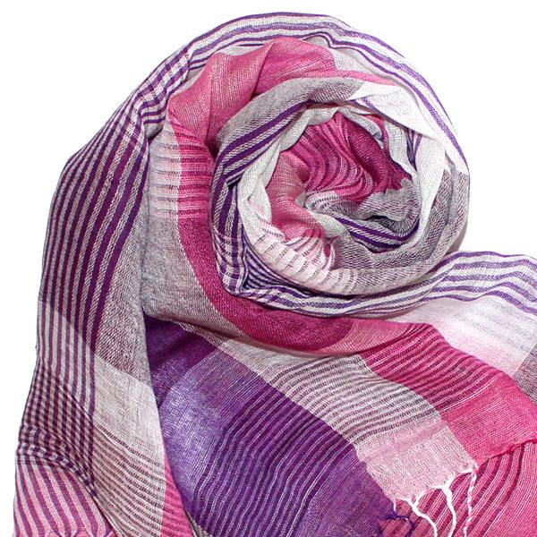 93047 lorenzo cana mens scarf cloth linen scarf pink. Black Bedroom Furniture Sets. Home Design Ideas