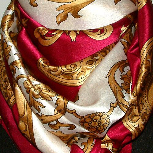 89010 LORENZO CANA Exclusive Italian Silk Scarf 100% Silk ...
