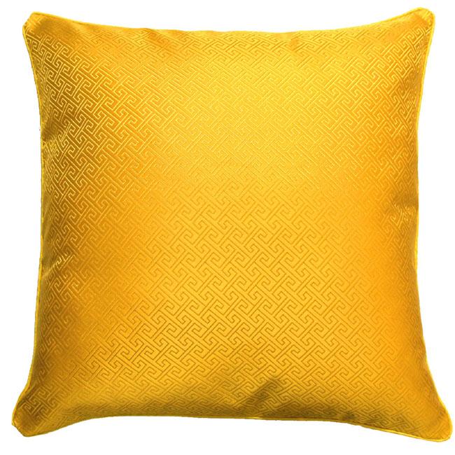 96064 lorenzo cana kissenh lle kissenbezug seidenbrokat gelb uni ebay. Black Bedroom Furniture Sets. Home Design Ideas