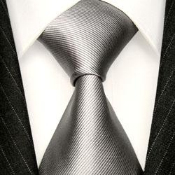 12036 Krawatte aus Seide von LORENZO CANA Seidenkrawatten