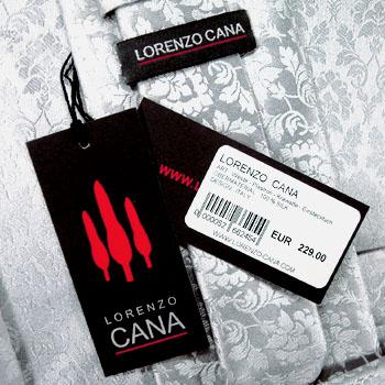 Lorenzo Cana Seidenkrawatte