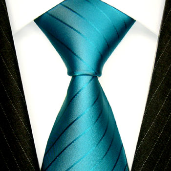84371 Türkis Blau Krawatte Seide Schlips silk neck tie LORENZO CANA