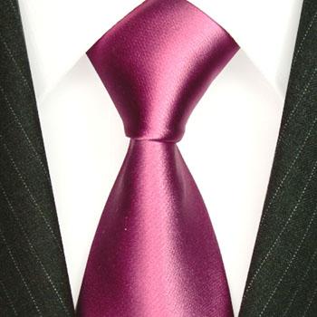 rose Hochzeit Krawatte rosa uni Schlips aus 100% Seide LORENZO CANA